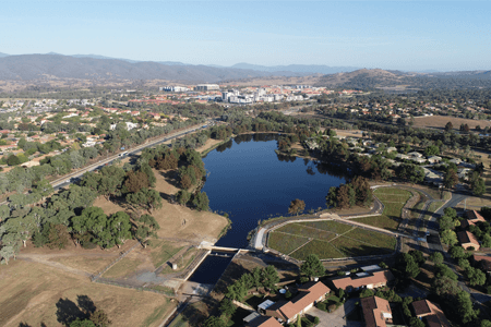 ACT Healthy Waterways site recently completed