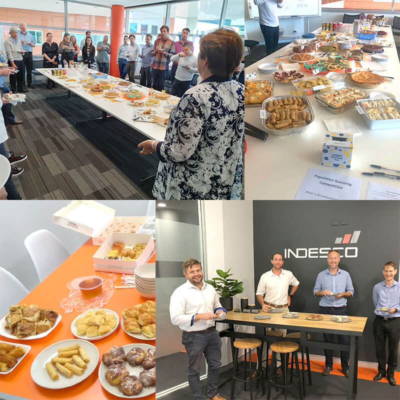 Indesco Raises $1,082 For Australia's Biggest Morning Tea!