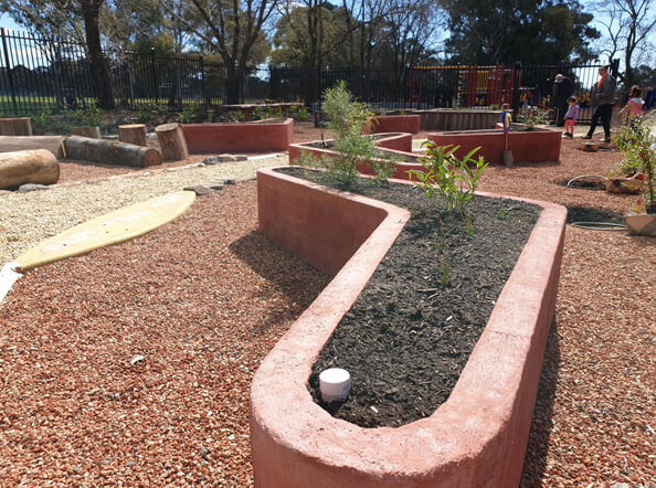 Indigenous Gardens at Arawang Primary School